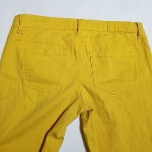 Vanilla Star Pants - Vanilla Star Bright Yellow Low Rise Skinny Pants